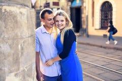 Süße Paare Stockbild