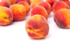 Süße Pfirsiche Stockfotografie