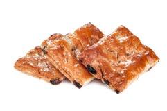 Süße Plätzchen auf Weiß Lizenzfreie Stockfotografie