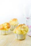 Süße Plätzchen mit Kokosnuss Lizenzfreies Stockfoto