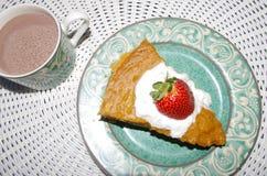 Süße potatoe Torte Lizenzfreie Stockfotos