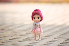 Süße Puppe stockbild