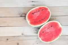 Süße reife Wassermelone Stockfotos