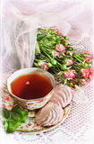 Süße romantische Abbildung Stockbild