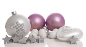 Süße romantische Weihnachtsdekoration lizenzfreie stockfotografie