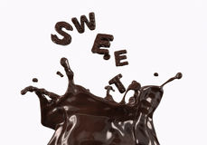Süße Schokolade 2 Stockfotografie