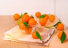 Süße Tangerinen stockfoto