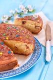 Süße Torte vom Grieß Stockfoto