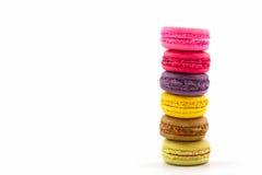 Süße und bunte französische Makronen oder macaron, Nachtisch stockfotos