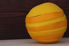 Süße und saftige Orange Lizenzfreie Stockfotografie