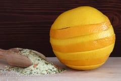 Süße und saftige Orange Stockfotos
