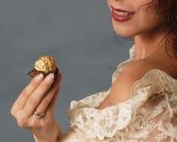 Süße Versuchung stockfoto