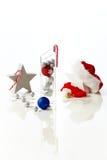 Süße Weihnachtsdekoration Lizenzfreie Stockfotos