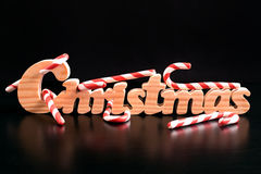 Süße Weihnachtssüßigkeiten Lizenzfreie Stockbilder