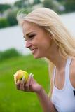 Süßer Apfel Lizenzfreie Stockfotos