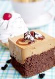 Süßer appetitanregender frischer honeyed Biskuit stockfoto