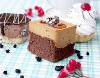 Süßer appetitanregender frischer honeyed Biskuit lizenzfreies stockbild