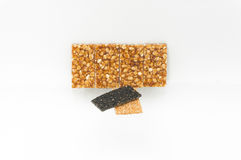Süßer Erdnusssnack Stockfoto