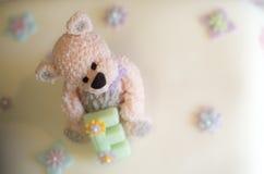 Süßer kleiner Bär Lizenzfreies Stockfoto