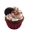 Süßer kleiner Kuchen auf Weiß Lizenzfreies Stockfoto