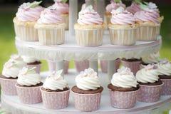 Süßer kleiner Kuchen Stockbild