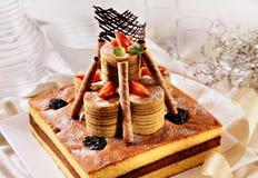 Süßer Kuchen Stockbild