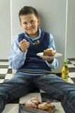Süßer Kuchen lizenzfreie stockfotos