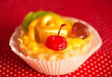 Süßer Kuchen zum das Frühstück Stockfotografie