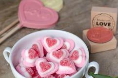 Süßer Liebeshintergrund Stockfotos