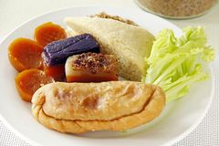 Süßer Reiskuchen Stockfoto