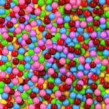 Süßer Süßigkeithintergrund Stockfotos