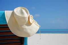 Süßer Sommertag auf dem Strand Stockfotografie