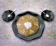 Süßer Teller Hyderabad Indien des Kürbises stockfotos