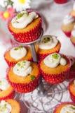 Süßer und köstlicher kleiner Kuchen Stockfoto