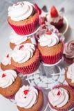 Süßer und köstlicher kleiner Kuchen Stockbilder