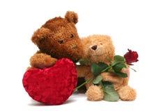 Süßer Valentinsgruß Stockbild