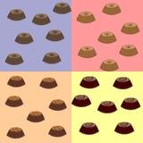 Süßes Backen als Kuchen Lizenzfreies Stockfoto