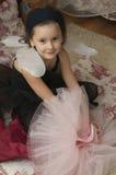 Süßes Ballerinamädchen Lizenzfreie Stockfotografie