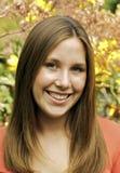 Süßes Brunette-Portrait Lizenzfreies Stockfoto