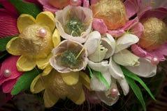 Süßes Design, Blumenstrauß der Süßigkeit Lizenzfreies Stockfoto