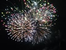 Süßes Feuerwerk feuerwerk Pyro nettes Lizenzfreies Stockbild