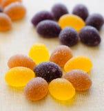 Süßes Gelee und Zucker Stockbilder