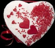 Süßes Geschenk für Liebling Stockbild