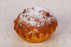 Süßes geschmackvolles Muffin stockfotos