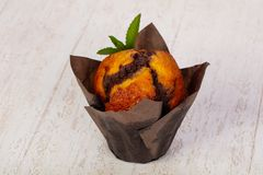 Süßes geschmackvolles Muffin lizenzfreies stockfoto