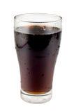 Süßes Getränk in einem Glas Stockfoto