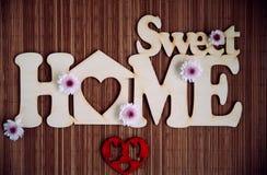 Süßes Hauptzeichen Stockfotografie
