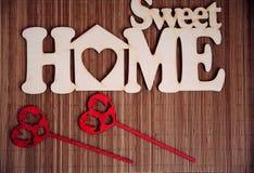 Süßes Hauptzeichen Stockfotos