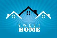 Süßes Haus Stockfotografie