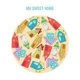 Süßes Haus Lizenzfreies Stockfoto